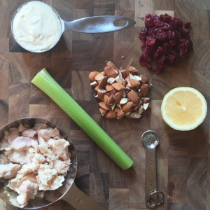 healthy chicken salad, chicken salad, cranberry chicken salad, fall recipe, healthy mayo, high protein meal